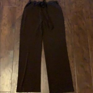 Brown Rayon pants